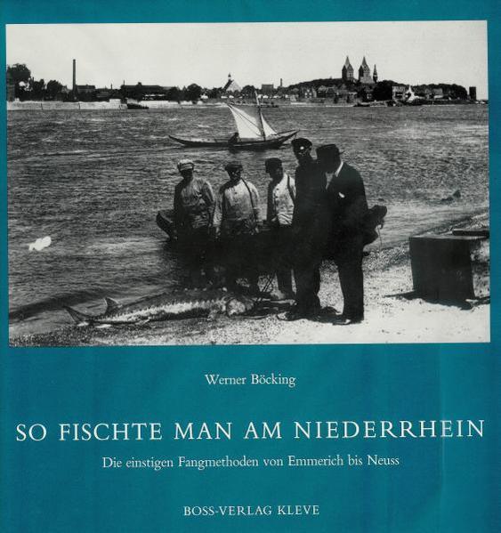 So fischte man am Niederrhein - Coverbild
