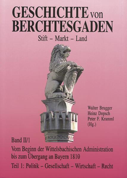 Geschichte von Berchtesgaden Stift-Markt-Land - Coverbild