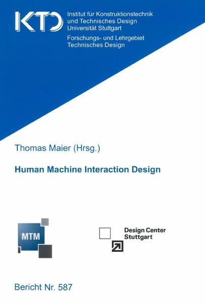 Human Machine Interaction Design - Coverbild