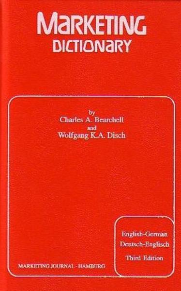 Marketing Dictionary - Coverbild