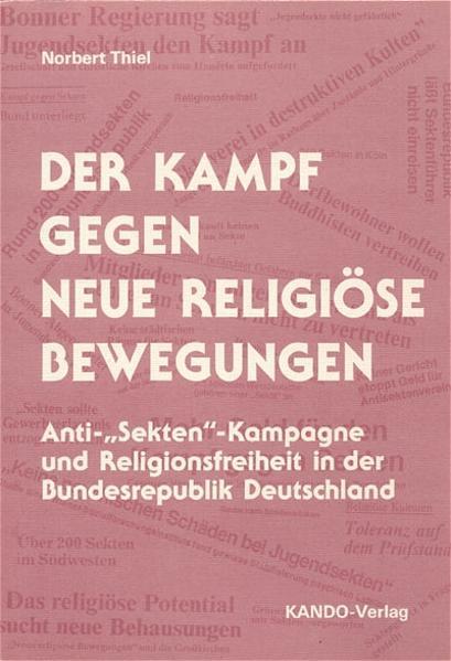 Der Kampf gegen neue religiöse Bewegungen - Coverbild