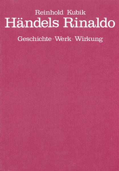 Händels Rinaldo - Coverbild