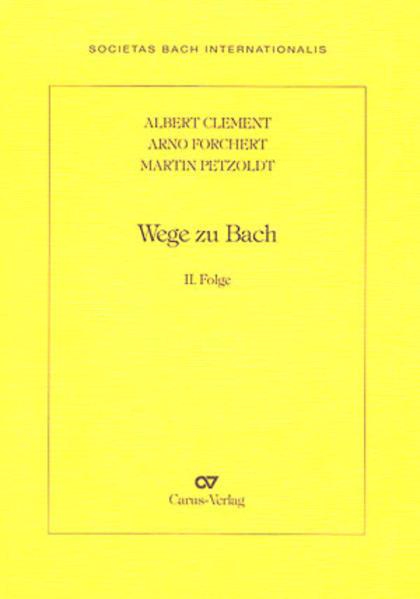 Wege zu Bach - Coverbild