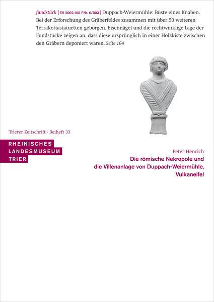 Die römische Nekropole und die Villenanlage von Duppach-Weiermühle, Vulkaneifel - Coverbild
