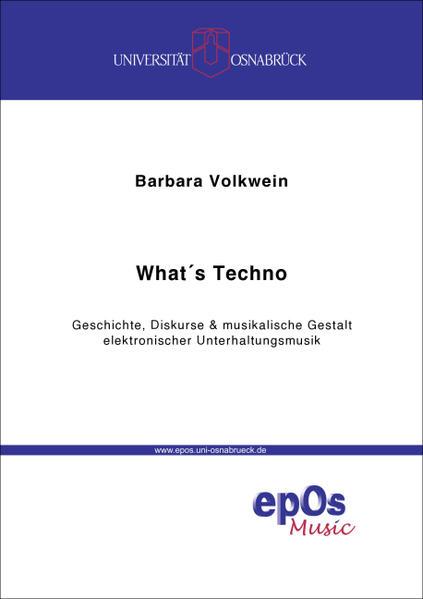 What's Techno? - Coverbild