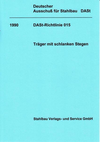 DASt-Richtlinie 015 - Coverbild