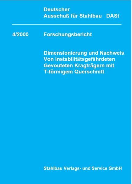 DASt-Forschungsbericht 4/2000 - Coverbild