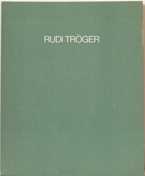 Rudi Tröger - Coverbild