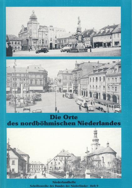 Die Orte des nordböhmischen Niederlandes - Coverbild