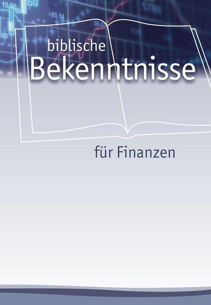 Biblische Bekenntnisse für Finanzen - Coverbild