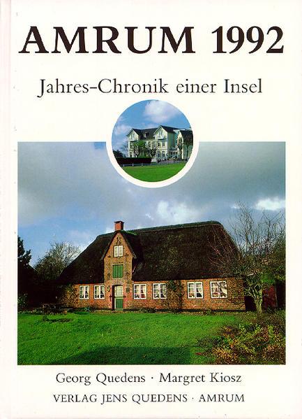 Amrum. Jahreschronik einer Insel / Amrum 1992 - Coverbild