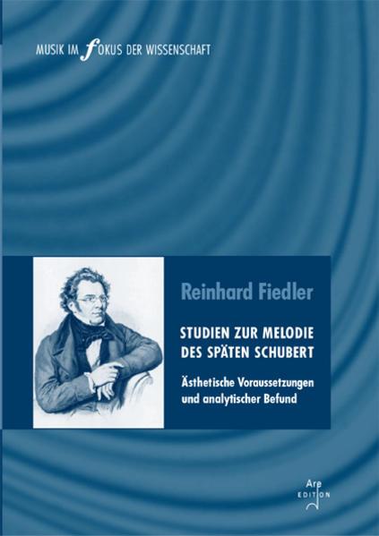 Studien zur Melodie des späten Schubert - Coverbild