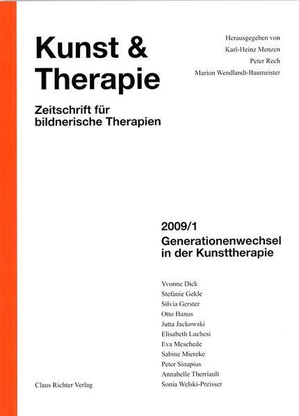 Generationenwechsel in der Kunsttherapie - Coverbild