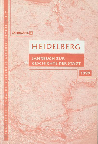 Heidelberg. Jahrbuch zur Geschichte der Stadt - Coverbild