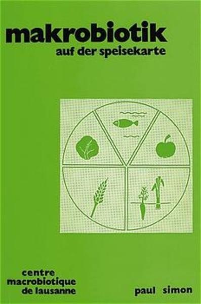 Makrobiotik auf der Speisekarte - Coverbild