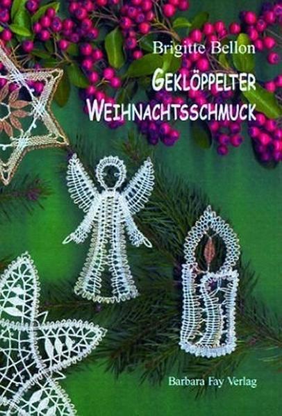 Geklöppelter Weihnachtsschmuck - Coverbild