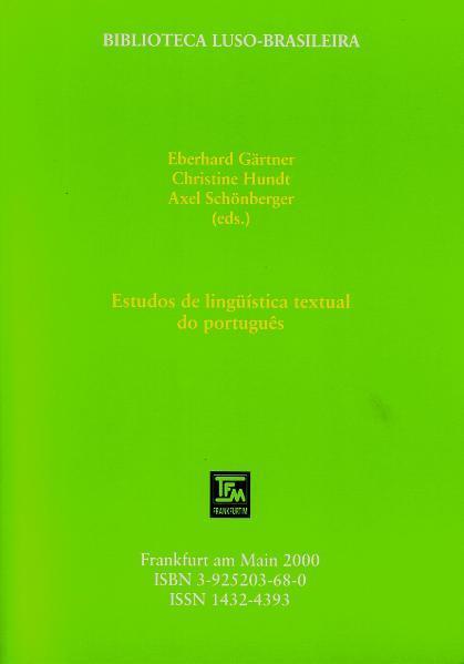 Estudos de lingüística textual do português - Coverbild