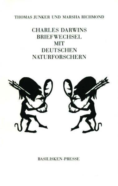 Charles Darwins Briefwechsel mit Deutschen Naturforschern - Coverbild