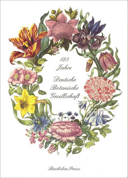 125 Jahre Deutsche Botanische Gesellschaft - Coverbild