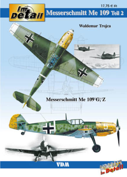 Im Detail / Messerschmitt Me 109 - Coverbild