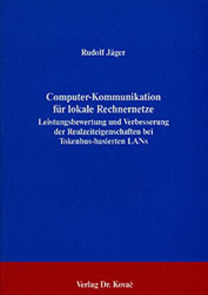 Computer-Kommunikation für lokale Rechnernetze - Coverbild