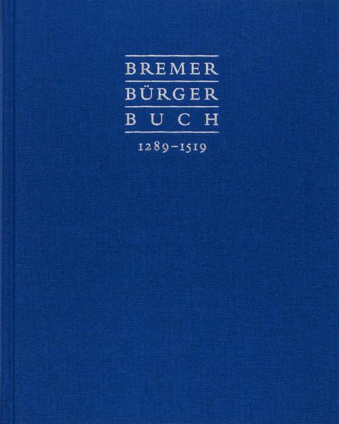 Bremer Bürgerbuch - Coverbild