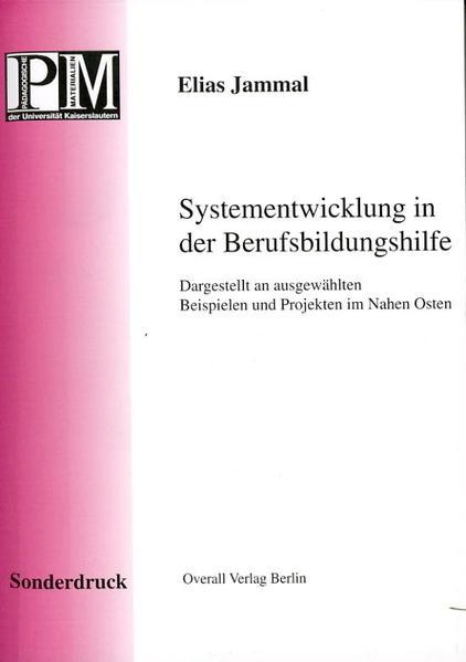 Systementwicklung in der Berufsbildungshilfe - Coverbild
