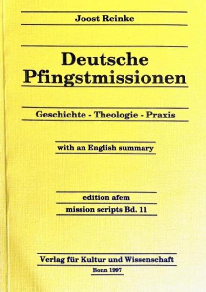 Deutsche Pfingstmissionen - Coverbild