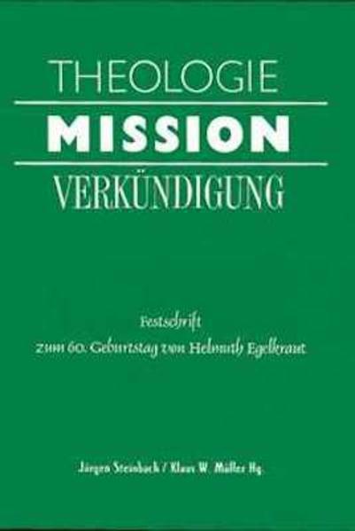 Theologie - Mission - Verkündigung - Coverbild