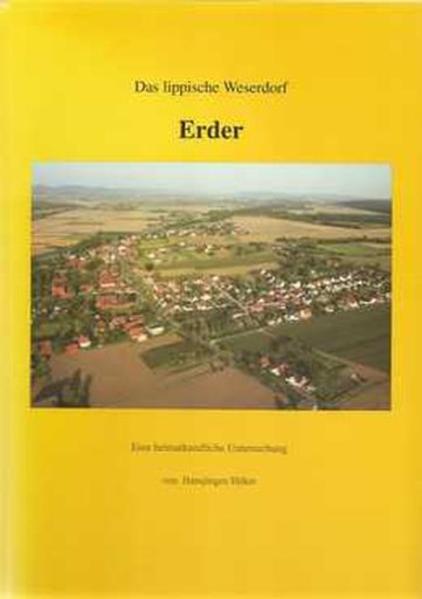 Das lippische Weserdorf Erder - Coverbild