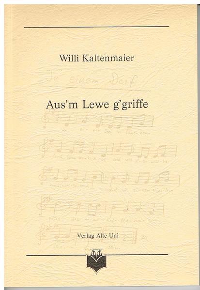 Aus'm Lewe g'griffe - Coverbild