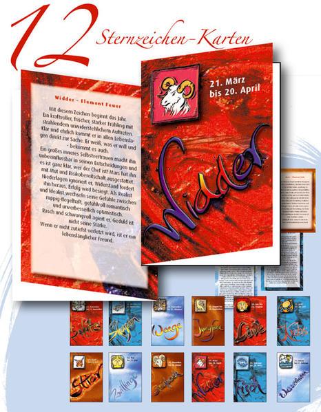 12 Sternzeichen-Karten Hajo-Schörle Design-Edition - Coverbild