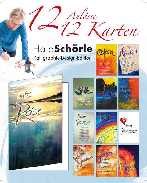 12 Anlässe - 12 Karten - Coverbild