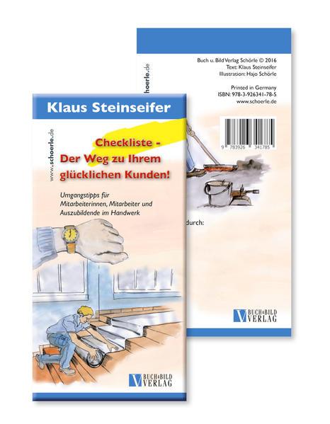 Checkliste - Der Weg zu Ihrem  glücklichen Kunden!  - Coverbild