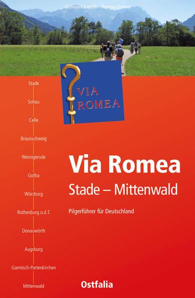 Via Romea Stade-Mittenwald - Coverbild