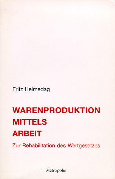 Warenproduktion mittels Arbeit - Coverbild