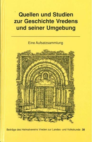 Quellen und Studien zur Geschichte Vredens und seiner Umgebung - Coverbild