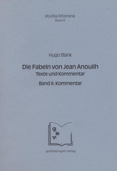 Die Fabeln von Jean Anouilh. Texte und Kommentar Epub Ebooks Herunterladen
