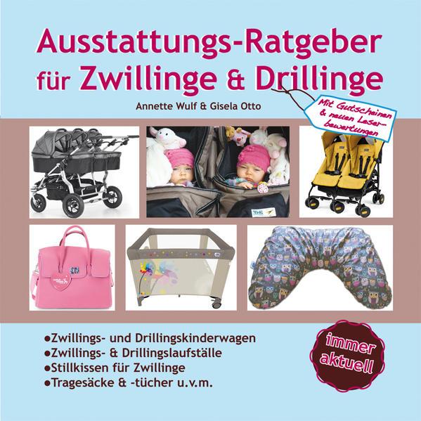 Ausstattungsratgeber für Zwillinge & Drillinge - Coverbild