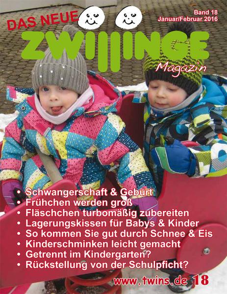 Das neue Zwillinge Magazin Jan./Feb. 2016 - Coverbild
