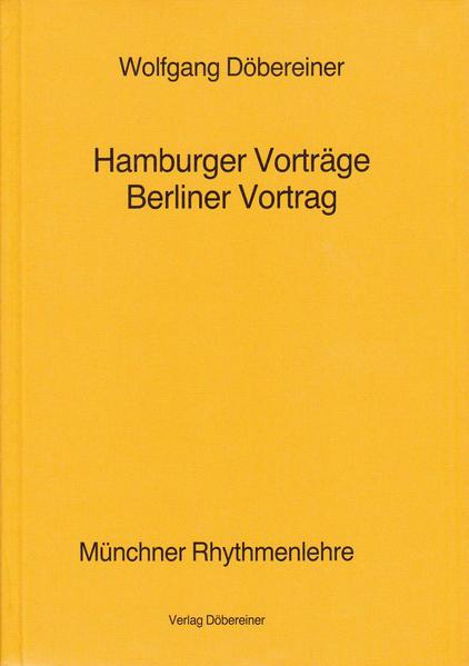 Hamburger Vorträge, Berliner Vortrag - Coverbild