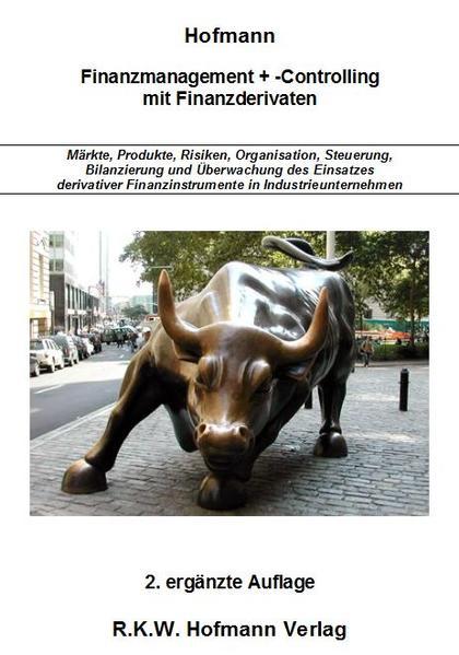 Finanzmanagement + -Controlling mit Finanzderivaten - Coverbild