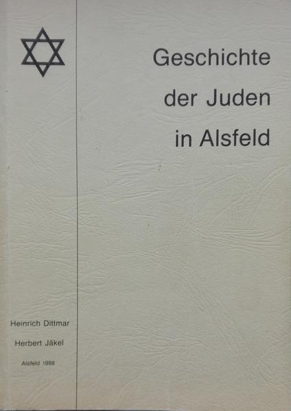 Geschichte der Juden in Alsfeld - Coverbild