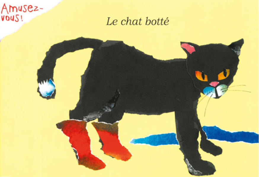 Le chat botté - Coverbild
