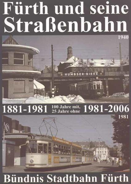 Fürth und seine Straßenbahn - Coverbild