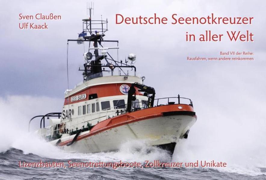 Deutsche Seenotkreuzer in aller Welt - Coverbild