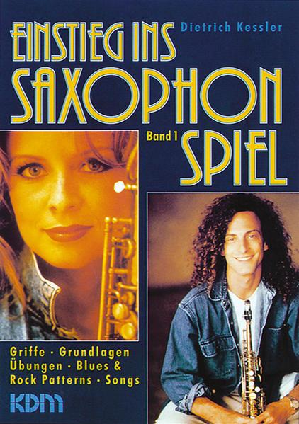 Einstieg ins Saxophonspiel / Einstieg ins Saxophonspiel Band 1 - Coverbild