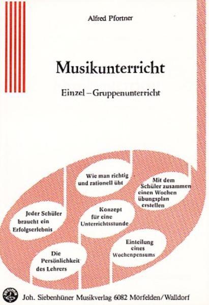 Musikunterricht - Coverbild
