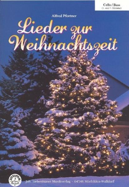 Lieder zur Weihnachtszeit Cello/Bass mit CD - Coverbild