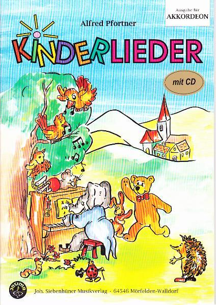 Kinderlieder, Akkordeon mit CD - Coverbild